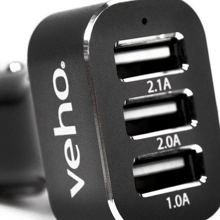 Chargeur Veho Triple USB 5.1A