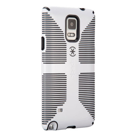 Speck CandyShell Grip Samsung Galaxy Note 4 Case - White / Black