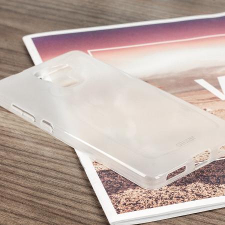 FlexiShield Case voor Huawei Honor 7 - Frost wit