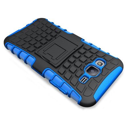 ArmourDillo Samsung Galaxy J5 2015 Protective Case - Blue