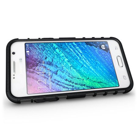 new concept b8ac3 ee945 Olixar ArmourDillo Samsung Galaxy J7 2015 Protective Case - Black