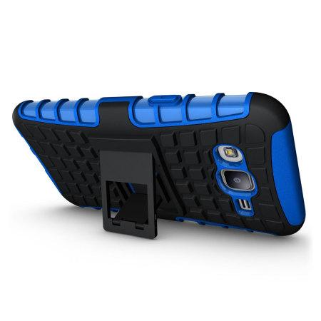 ArmourDillo Samsung Galaxy J7 2015 Protective Case - Blue