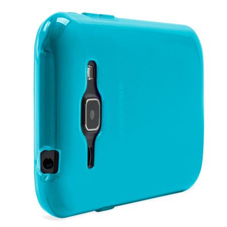 FlexiShield Samsung Galaxy J1 2015 Gel Case - Blue