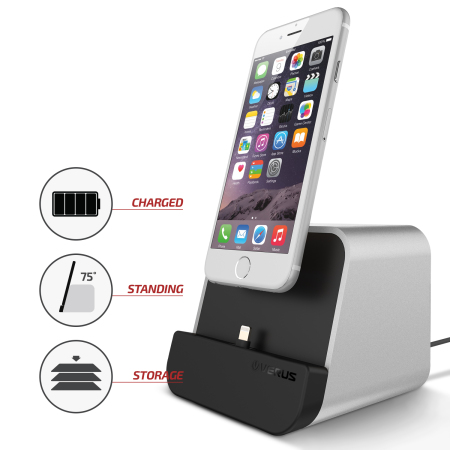 have verus i depot universal smartphone tablet charging stand silver Android user, and