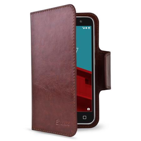 the majority encase leather style vodafone smart prime 6 wallet case black File manage the