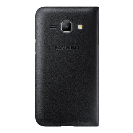 Official Samsung Galaxy J1 2015 Flip Cover - Black