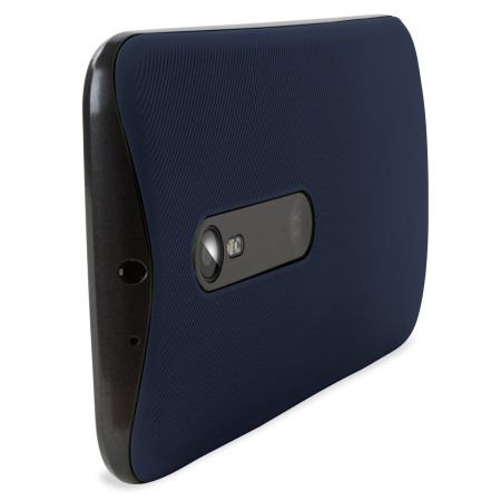 promo code dba3f 4c191 Official Motorola Moto G 3rd Gen Shell Replacement Back Cover - Navy