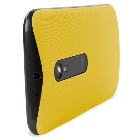 big sale d39d0 ad46e Official Motorola Moto G 3rd Gen Shell Replacement Back Cover - Yellow