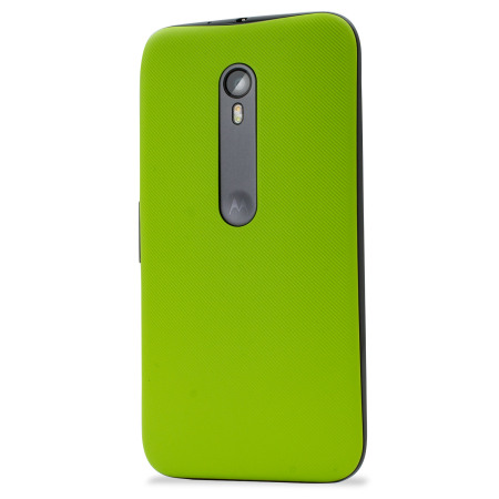 reputable site e1bc0 9e1e4 Official Motorola Moto G 3rd Gen Shell Replacement Back Cover - Lime