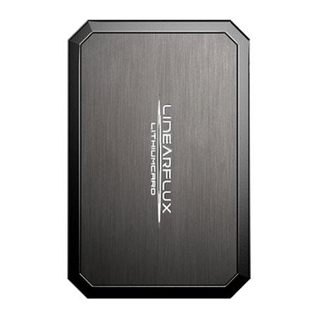 Linearflux LithiumCard Pro Portable Micro USB Power Bank - Titanium