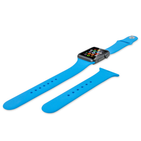 Olixar 3-in-1 Silicone Sports Apple Watch 2 / 1 Strap 42mm - Blue
