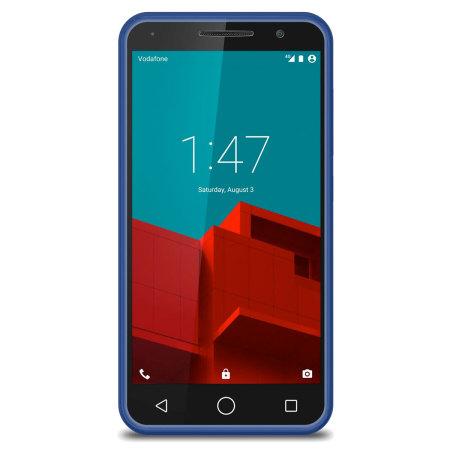 flexishield vodafone smart prime 6 gel case blue