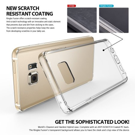 Rearth Ringke Fusion Samsung Galaxy Note 5  -  Cristal Transparent