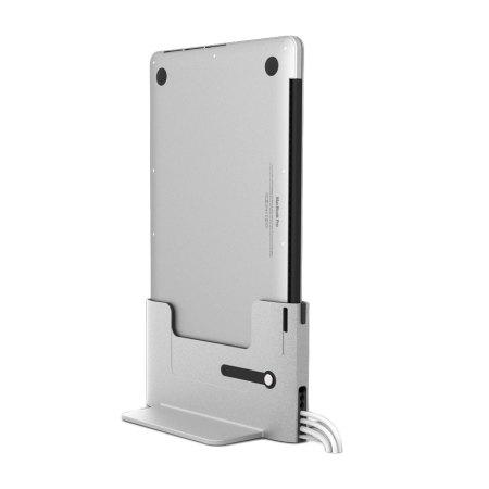 USB-C Vertical Dock for MacBook Pro with Thunderbolt 3 by Henge Docks