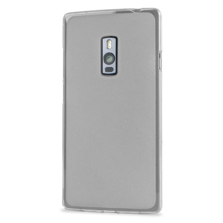 flexishield oneplus one case frost white