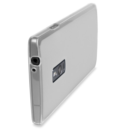 for flexishield oneplus one case frost white check