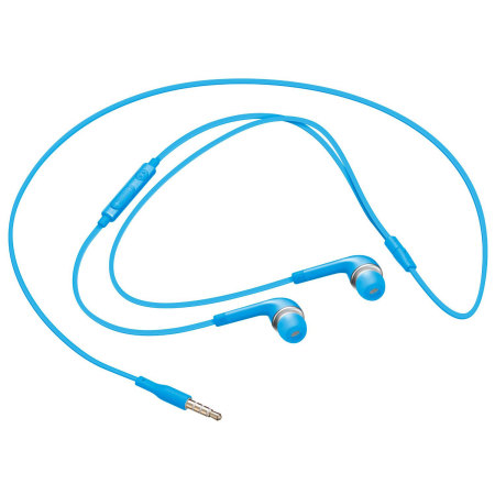 Official Samsung Stereo Headset with Remote & Microphone - Blue