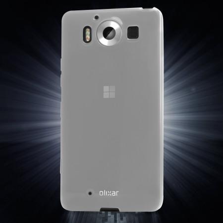 flexishield microsoft lumia 950 gel case frost white uses