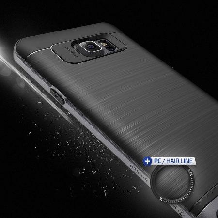 Verus High Pro Shield Series Samsung Galaxy Note 5 Case - Steel Silver