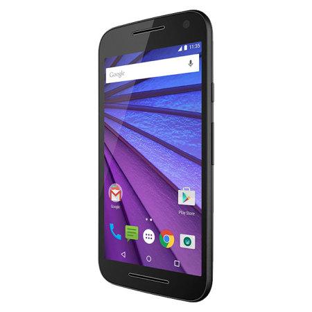 SIM Free Motorola Moto G 3rd Gen Unlocked - 8GB - Black
