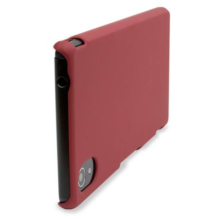 ToughGuard Sony Xperia M4 Aqua Hybrid Rubberised Case - Red