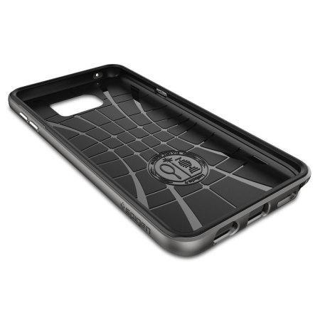 Spigen Neo Hybrid Carbon Samsung Galaxy Note 5 Case - Gunmetal