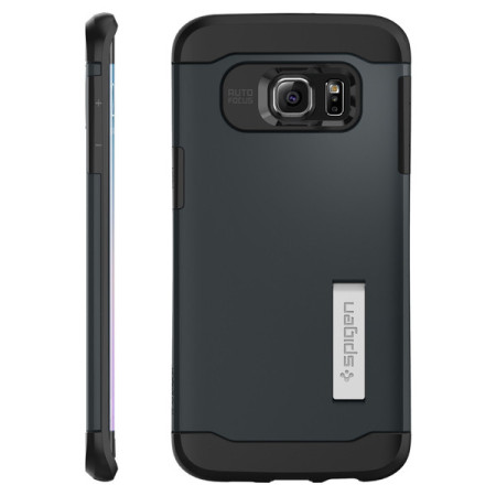 there's nothing for spigen slim armor samsung galaxy s6 edge case metal slate