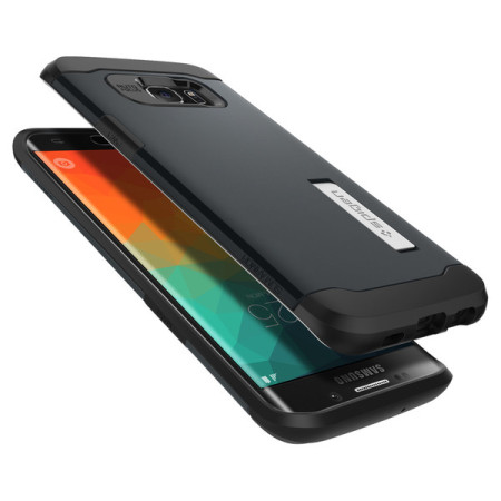 bagian spigen slim armor samsung galaxy s6 edge case metal slate BlackBerry has