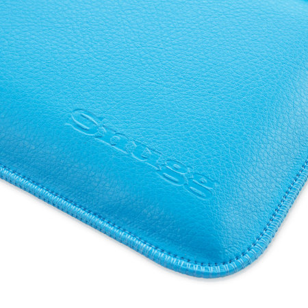 Snugg Leather-Style Wallet Microsoft Surface 3 Pouch - Cyan