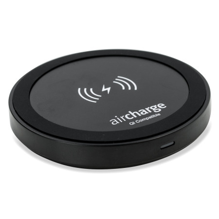 aircharge qi travel wireless charging pad black Now From