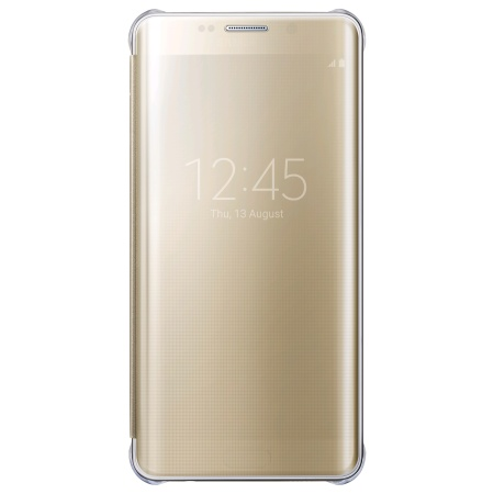 was about minutes official samsung galaxy s6 clear cover case gold