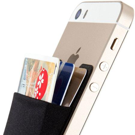 Smart Wallet Universal Smartphone Pocket - Black