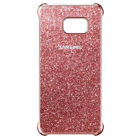 Official Samsung Galaxy S6 Edge Plus Glitter Cover Case - Pink