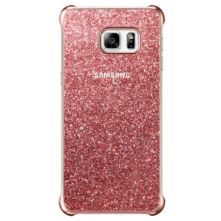huge discount 67023 d3d3e Official Samsung Galaxy S6 Edge Plus Glitter Cover Case - Pink