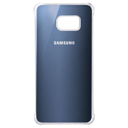pretty nice 30fdc 91efb Official Samsung Galaxy S6 Edge Plus Glossy Cover Case - Blue / Black