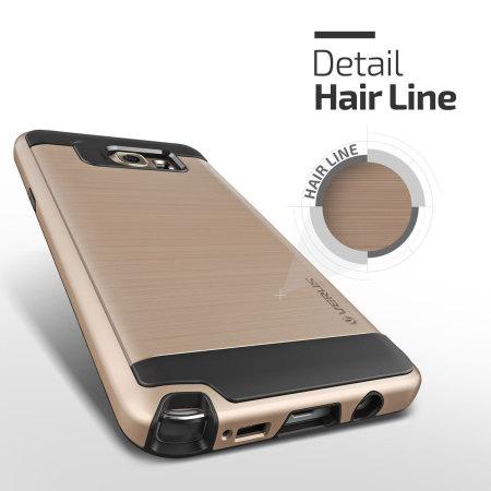 Verus Verge Series Samsung Galaxy Note 5 Case - Shine Gold