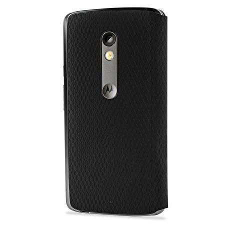 5230533a3c3 Funda Motorola Moto X Play Flip Shell - Negra