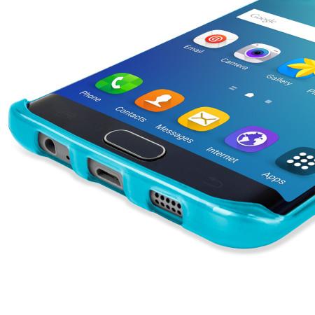 FlexiShield Samsung Galaxy S6 Edge Plus Gel Case - Blue