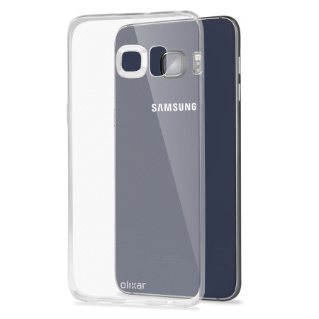 Olixar FlexiShield Ultra-Thin Samsung Galaxy S6 Edge Plus Case - Clear