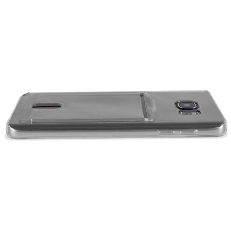 Olixar FlexiShield Slot Samsung Galaxy Note 5 Gel Case - Grey Tint