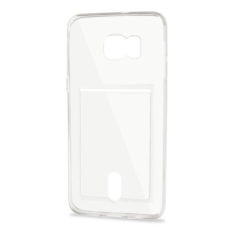 FlexiShield Slot Samsung Galaxy Note 5 Gel Case - Crystal Clear