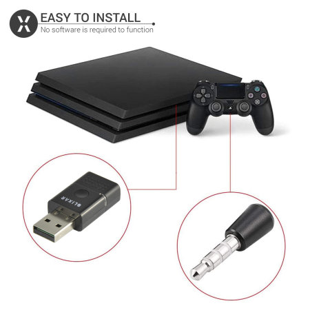 Adaptateur Bluetooth PS4 - Dongle Bluetooth pour casque PS4