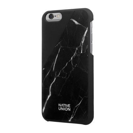 timeless design 3e89d eadba Native Union CLIC Real Marble iPhone 6S / 6 Case - Black