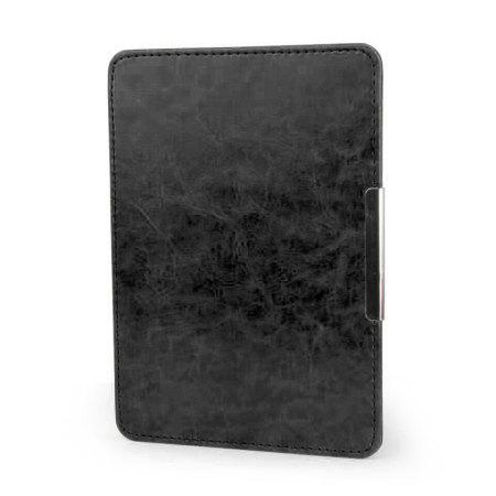 Olixar Leather-Style Kindle Paperwhite Case - Black
