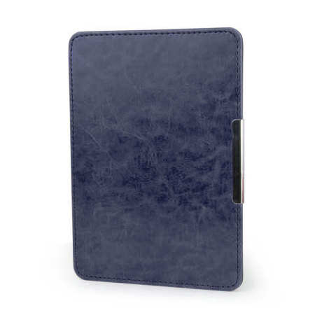 Olixar Leather-Style Kindle Paperwhite Case - Navy