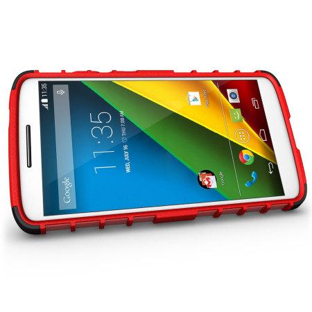 Olixar ArmourDillo Motorola Moto X Play Protective Case - Red