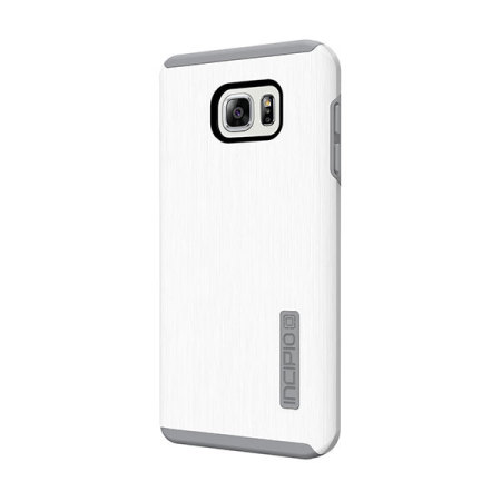 Incipio DualPro Shine Samsung Galaxy Note 5 Case - White / Light Grey