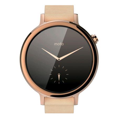 Motorola Moto 360 2nd Gen SmartWatch 42mm - Rose Gold