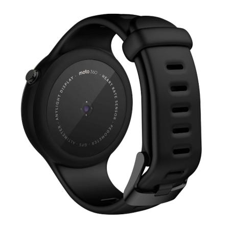 Motorola Moto 360 Sport 2nd Gen SmartWatch - Black