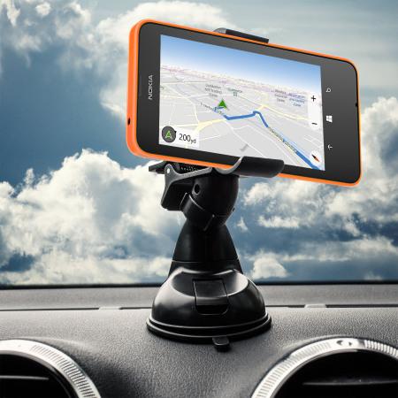 Olixar DriveTime Microsoft Lumia 635 Car Holder & Charger Pack